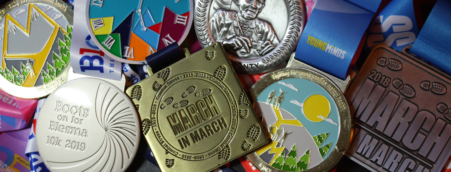 White Label Virtual Events - Past medals